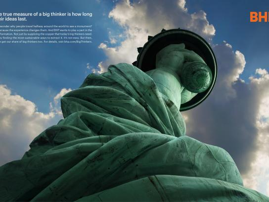 BHP Print Ad - Think Big