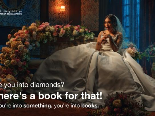 Sharjah Book Authority Integrated Ad - If you're into something, you're into books