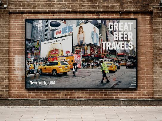 Stella Artois Outdoor Ad - Great Beer Travels