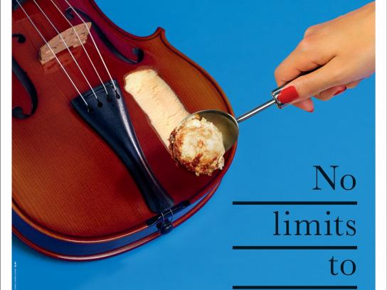 Philharmonie de Paris Print Ad - No Limits, 2