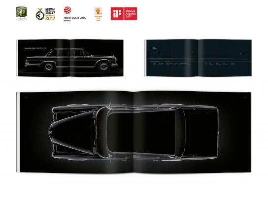 Mercedes Design Ad - Maybach S600 Pullman Book