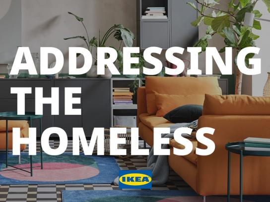 IKEA Integrated Ad - Addressing The Homeless