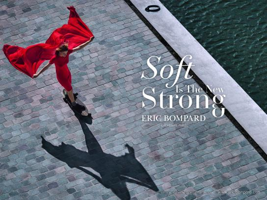 Eric Bompard Print Ad - Soft Is The New Strong, 2