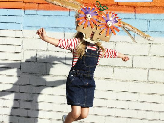Petit Bateau Outdoor Ad -  For serious kids, 6