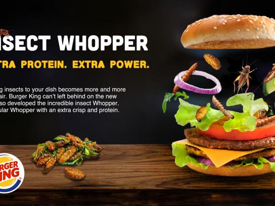 Burger King Integrated Ad - Insect Whopper