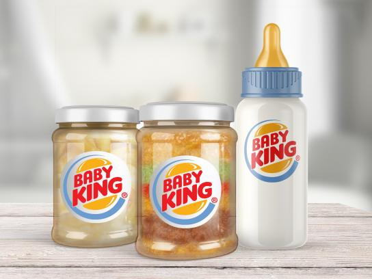 Burger King Integrated Ad - Baby King