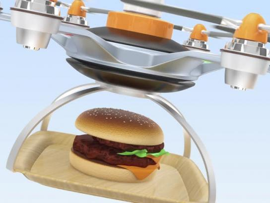 Burger King Integrated Ad - Dropper Whopper