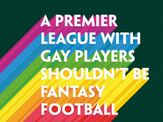 Paddy Power Print Ad - A Premier League With