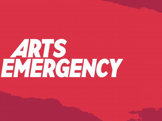 Arts Emergency Design Ad - Rebrand