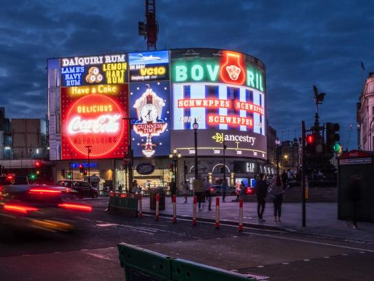 Ancestry Outdoor Ad - Anomaly takes Piccadilly Circus back in time for Ancestry
