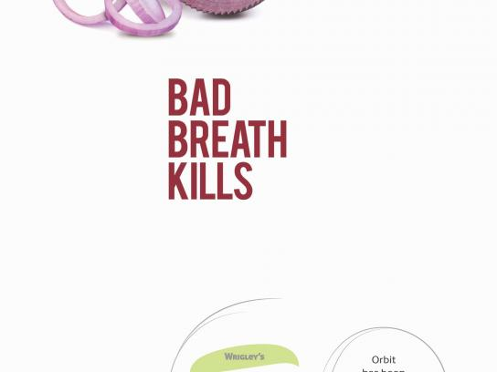 Orbit Print Ad - Bad Breath Kills