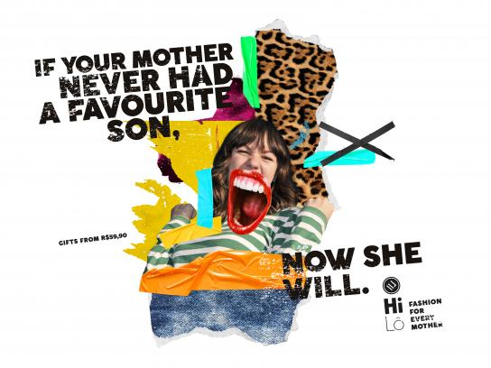 Hilô Print Ad - Mother's Day