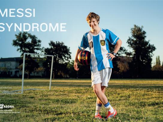ASDRA Print Ad -  Messi syndrome