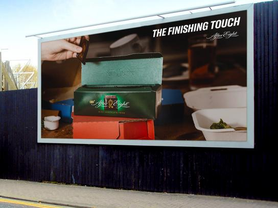 After Eight Outdoor Ad - The Finishing Touch