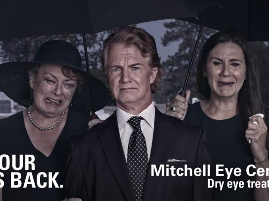 Mitchell Eye Centre Outdoor Ad - Funeral