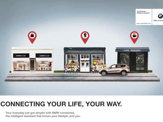 BMW Print Ad - Connected Drive, 1