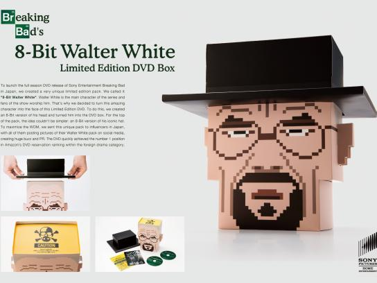 Sony Pictures Direct Ad -  8-Bit Walter White