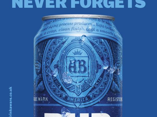 Bud Light Outdoor Ad - Responsibly