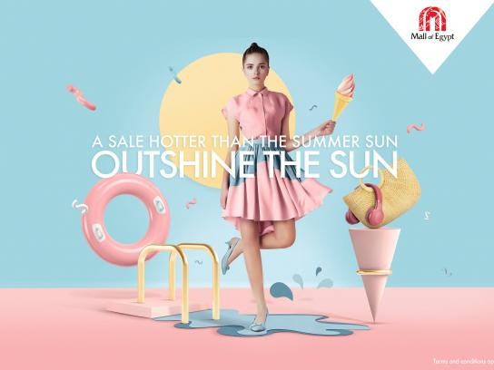 Mall of Egypt Integrated Ad - Outshine The Sun