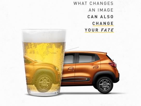 Renault Print Ad - Don't Drink and Drive