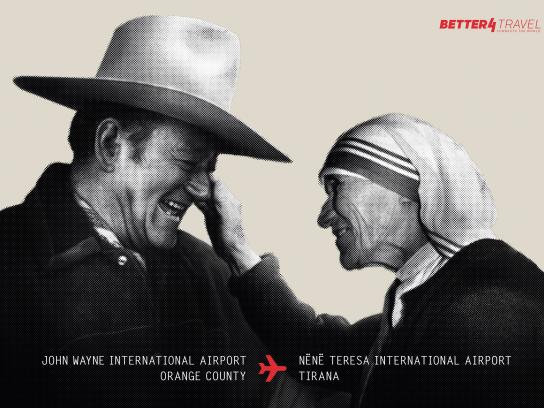 Better4Travel Print Ad - Better Connections, 3