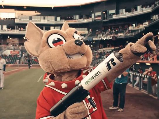 Russell Athletic Film Ad - Minor League Mascots Major League Funk - Chico