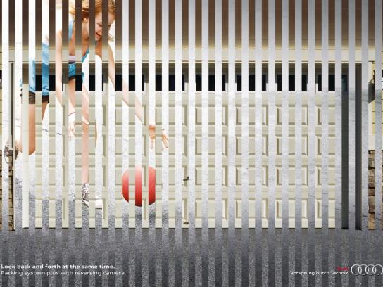 Audi Print Ad -  Back an Forth, Child