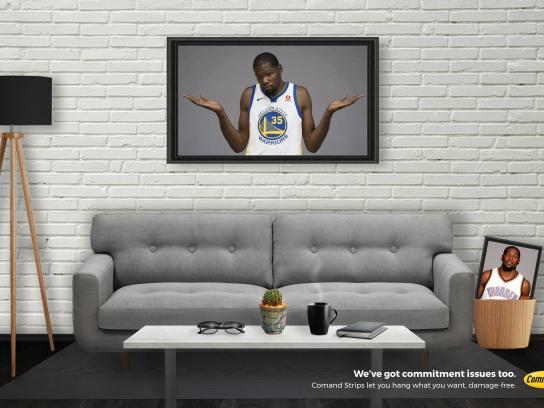 Command Print Ad - Kevin Durant