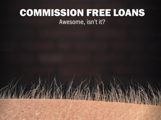 ForteBank Print Ad - Commission Free Loans