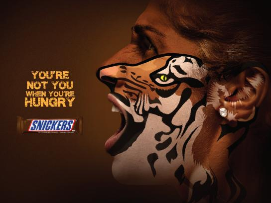 Snickers Print Ad - Snickers, 1