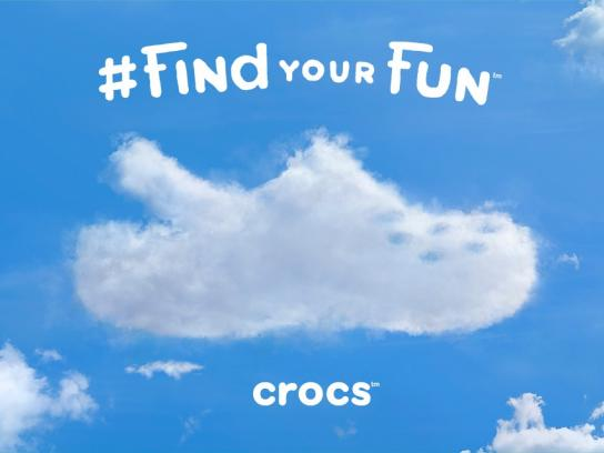 Crocs Outdoor Ad -  Cloud