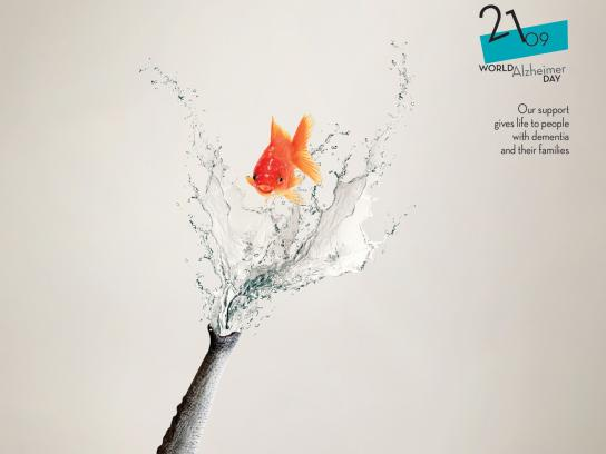 Alzheimer Athens Print Ad - Support