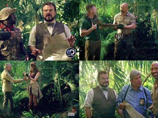 Discovery Channel Integrated Ad - Discovery + Jumanji