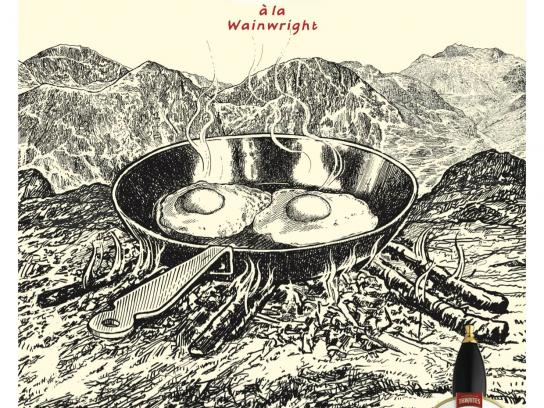 Wainwright Print Ad -  Easter Eggs