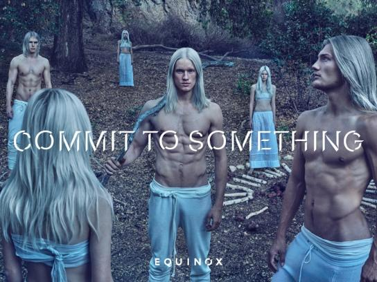 Equinox Print Ad -  Commit to something, 1