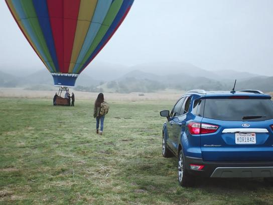 Ford Film Ad - First-Ever: Vicky's Hot Air Balloon Ride