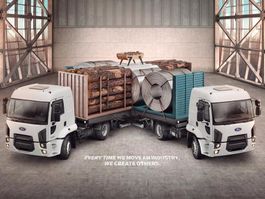 Ford Print Ad -  Intersection, 3