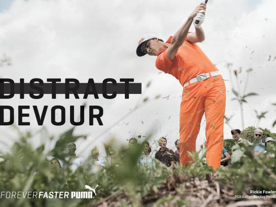 Puma Print Ad -  Forever Faster - Fowler