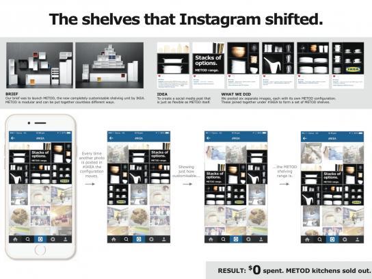 IKEA Digital Ad -  The shelves that Instagram shifted
