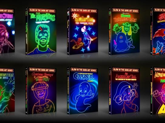 Glow in the Dark Art Packaging Series
