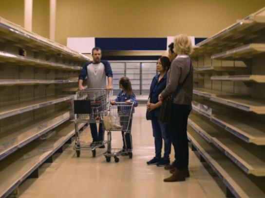 The Media Food Drive Film Ad - Grocery Store