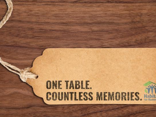 Habitat for Humanity Experiential Ad - Countless Memories