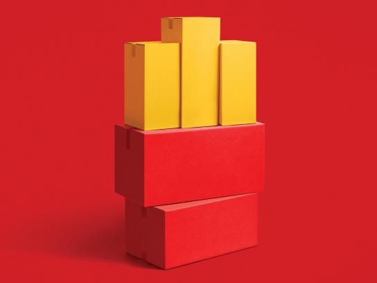 McDonald's Print Ad - Happy Moving Day - Fries