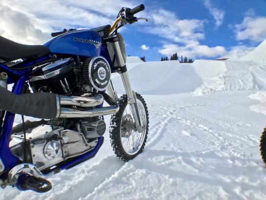 Harley-Davidson Experiential Ad - The Snow Hill Climb: Creating a new event at the Winter X Games