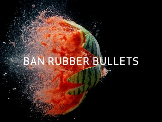 Free Streets Now Film Ad - Rubber bullets