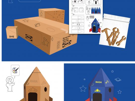 IKEA Design Ad - Space Ship