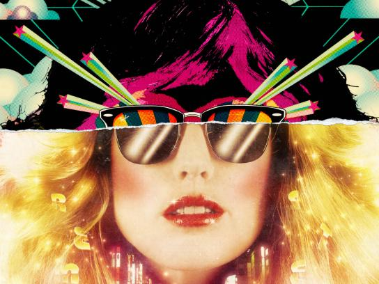 Ray-Ban Print Ad -  Clubmaster 70's