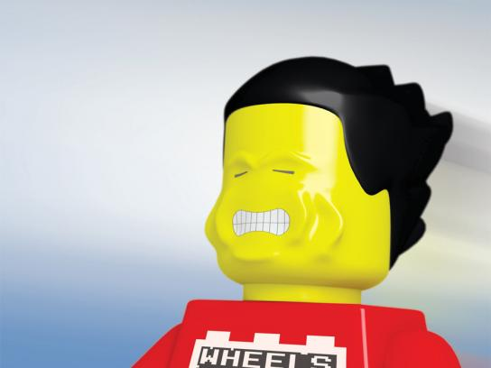 Discovery Centre Print Ad -  Lego Man