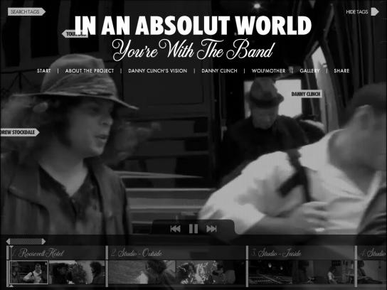 Absolut Digital Ad -  You're With The Band