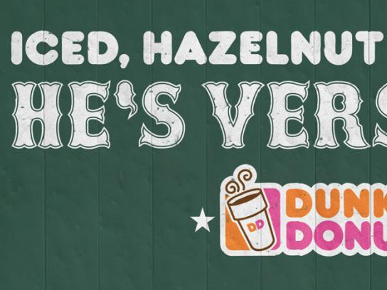 Dunkin' Donuts Outdoor Ad -  Adrian